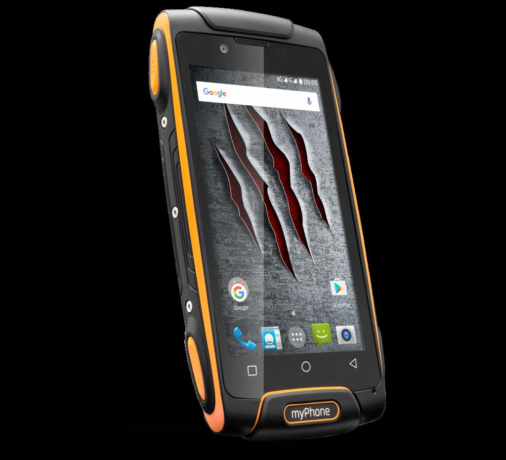 najlepszy smartfon do pracy MyPhone AXE M LTE